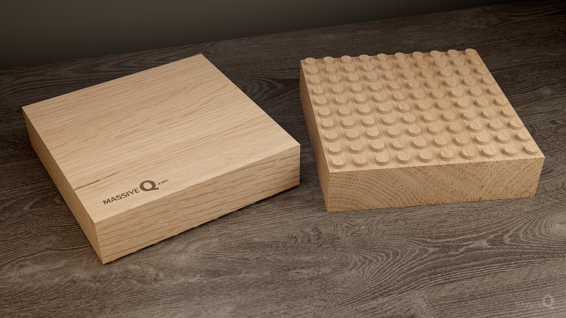 Q Baseplate 10x10x6 – Oak