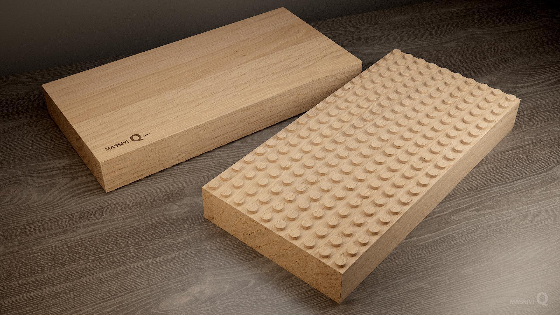 Q Baseplate 10x20x6 – Oak