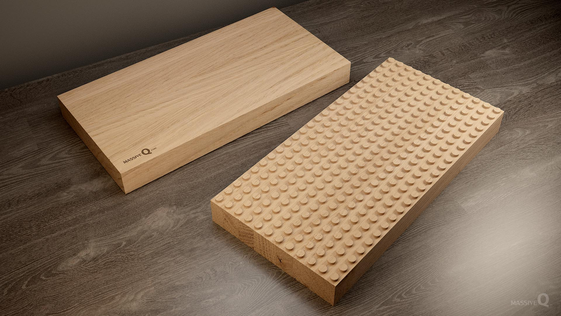 Q Baseplate 12x24x6 – Oak