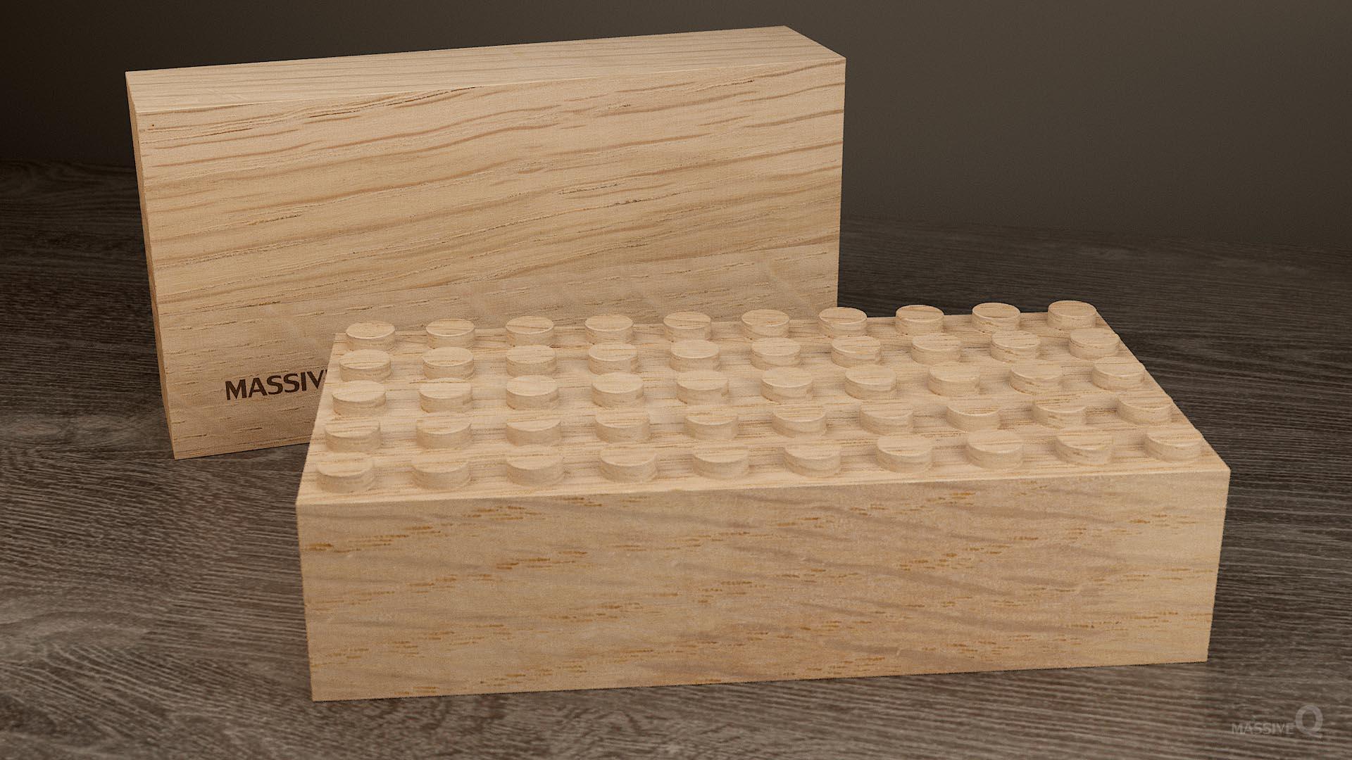 Q Baseplate 5x10x6 – Oak