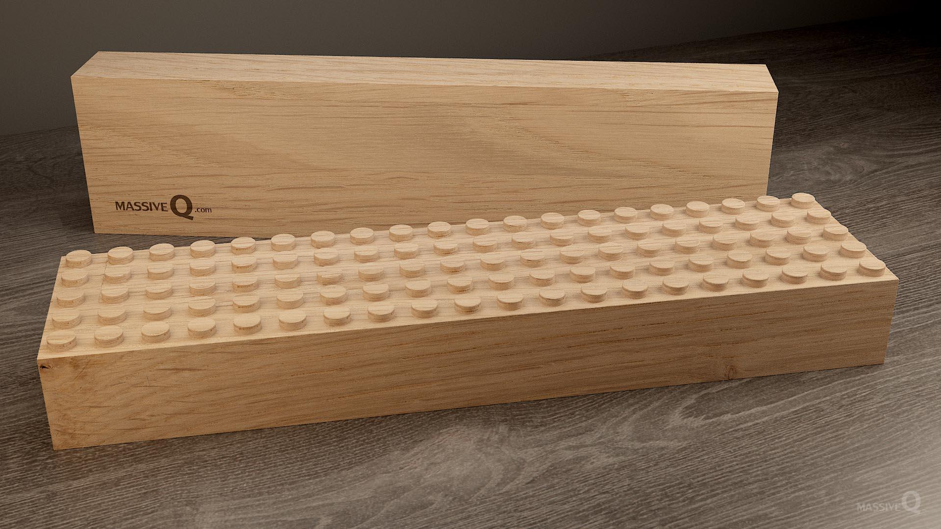 Q Baseplate 5x20x6 – Oak