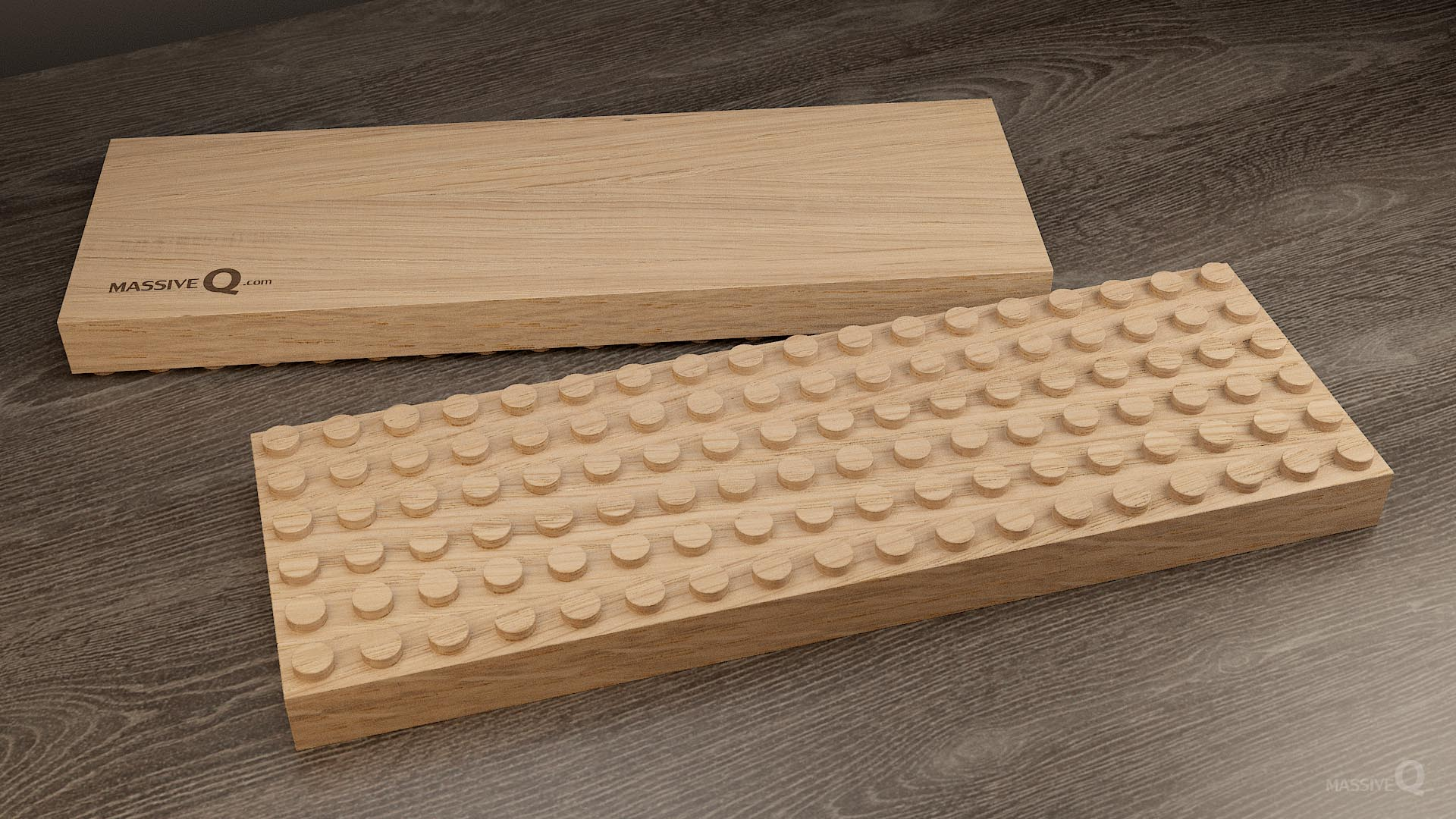 Q Baseplate 6x18x3 – Oak