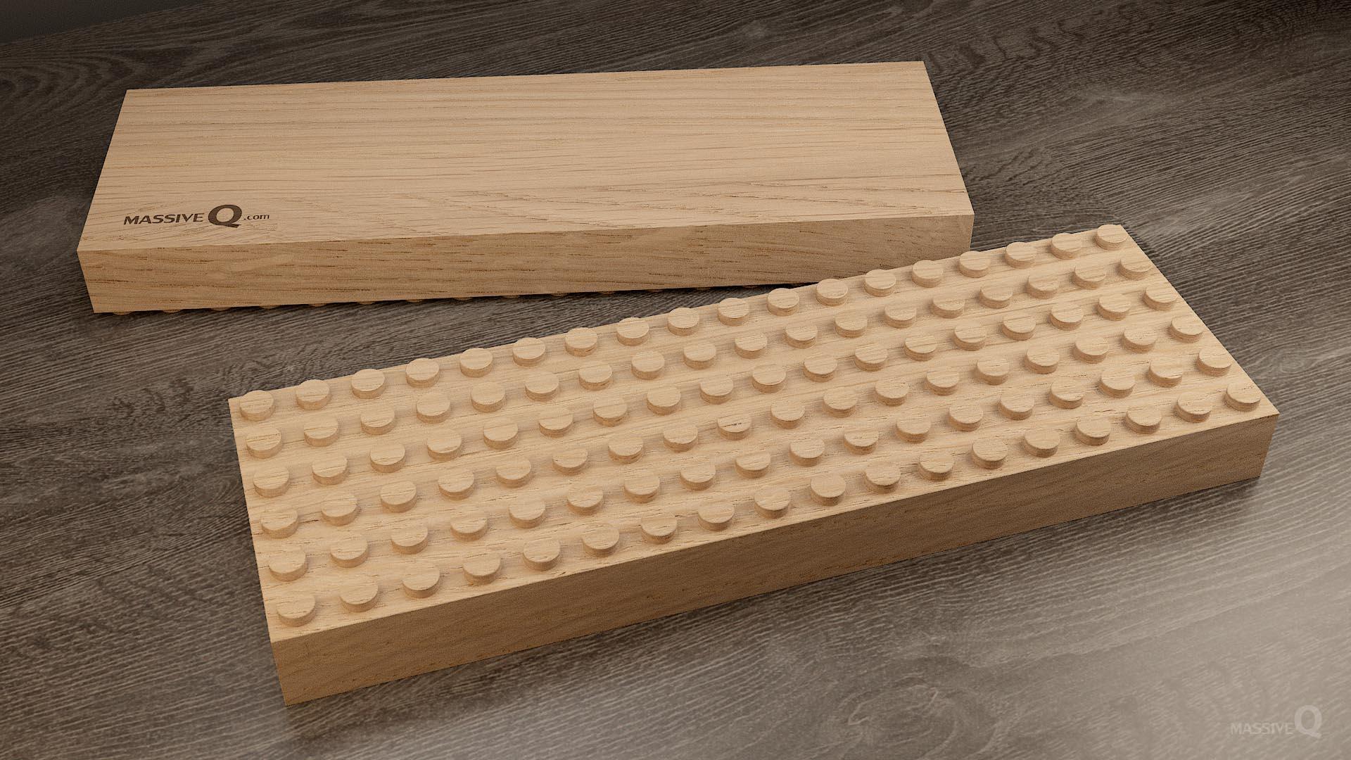 Q Baseplate 6x18x4 – Oak