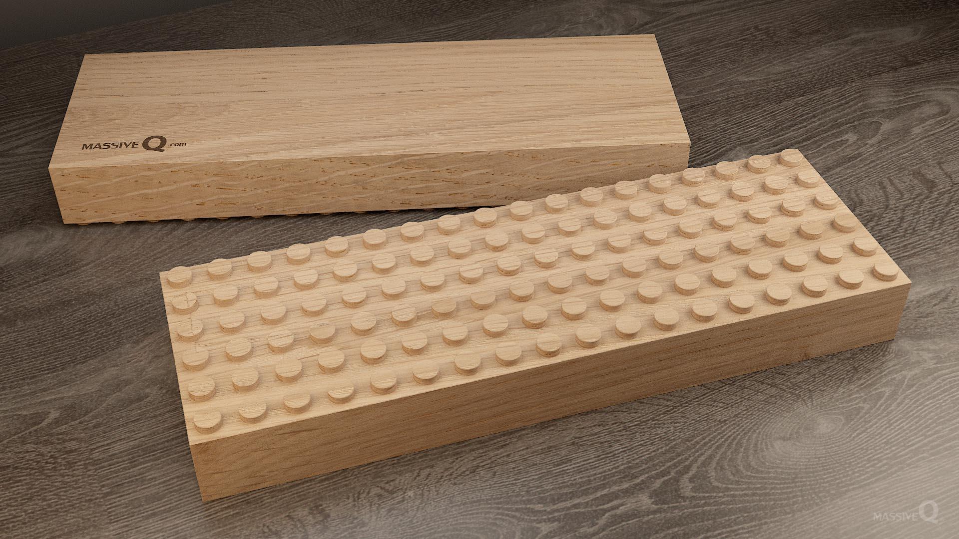 Q Baseplate 6x18x5 – Oak