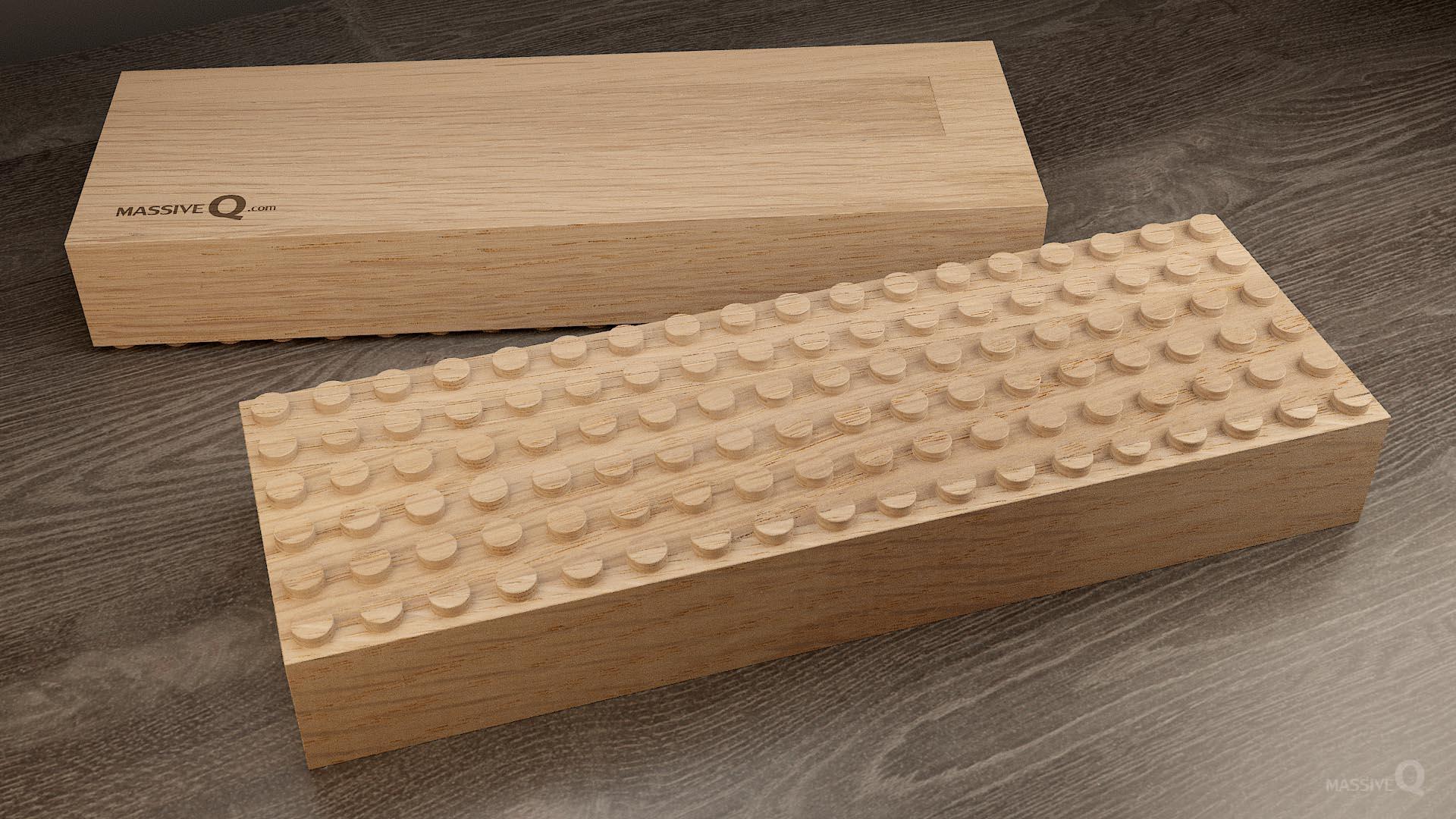 Q Baseplate 6x18x6 – Oak