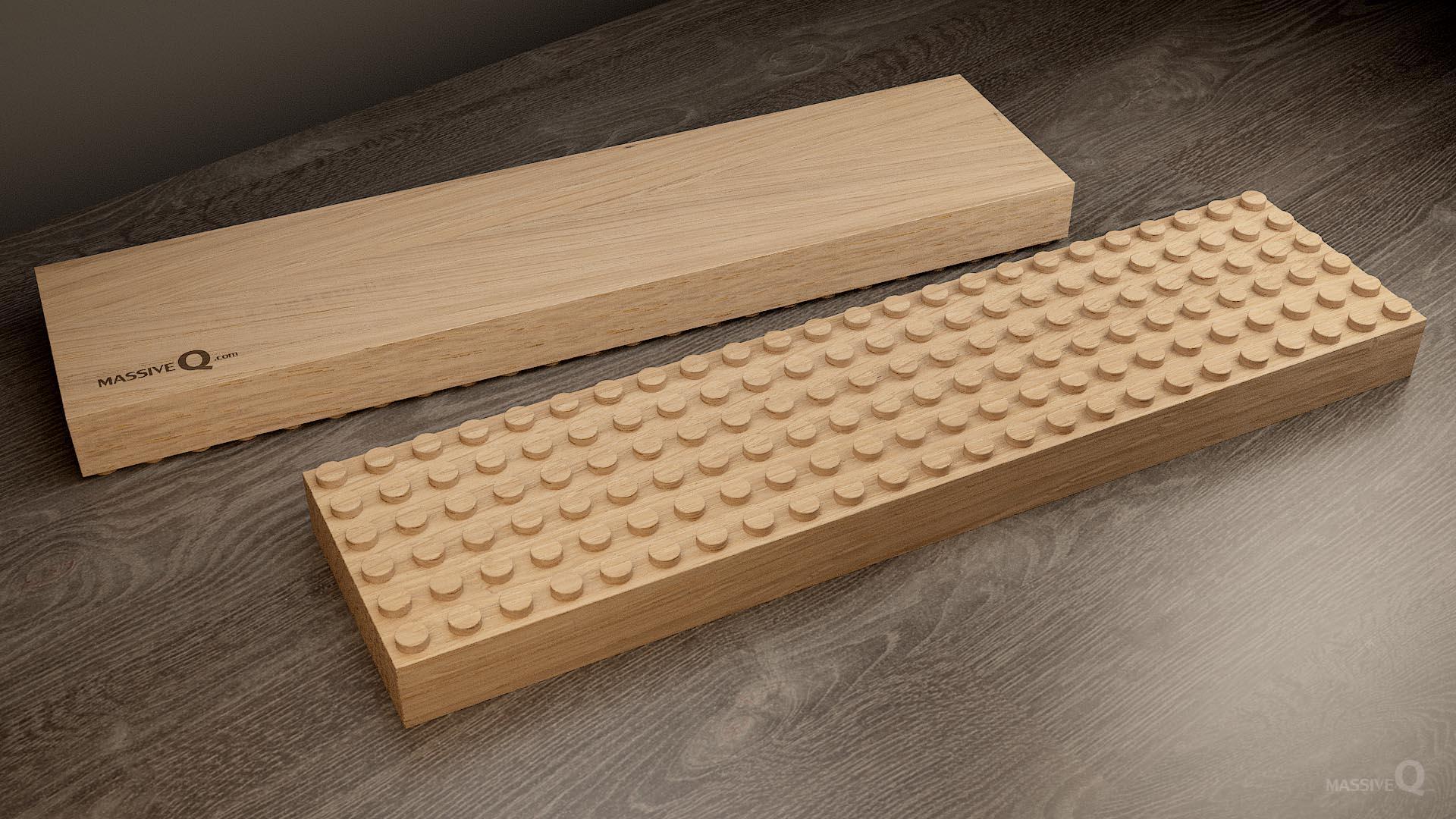Q Baseplate 6x24x4 – Oak