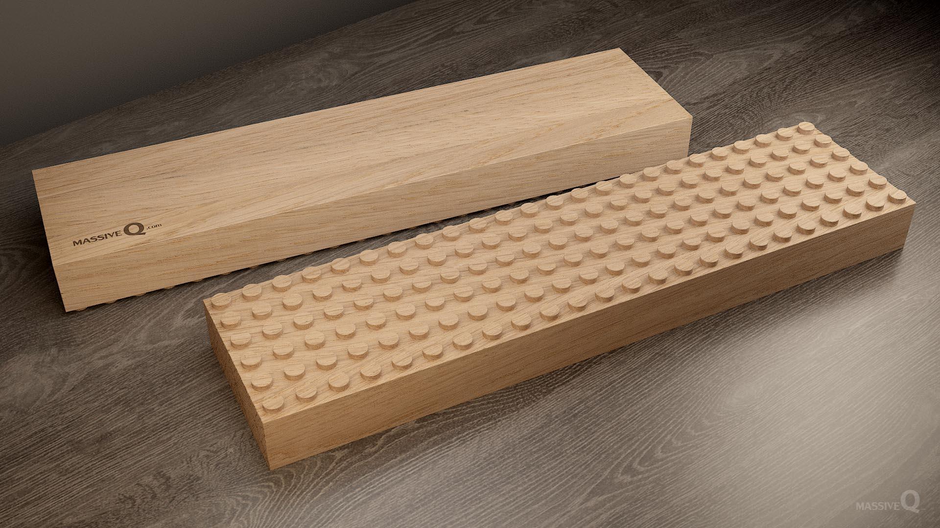 Q Baseplate 6x24x5 – Oak