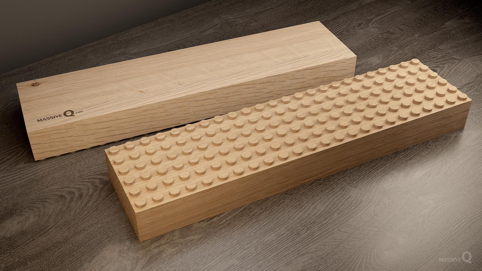 Q Baseplate 6x24x6 – Oak