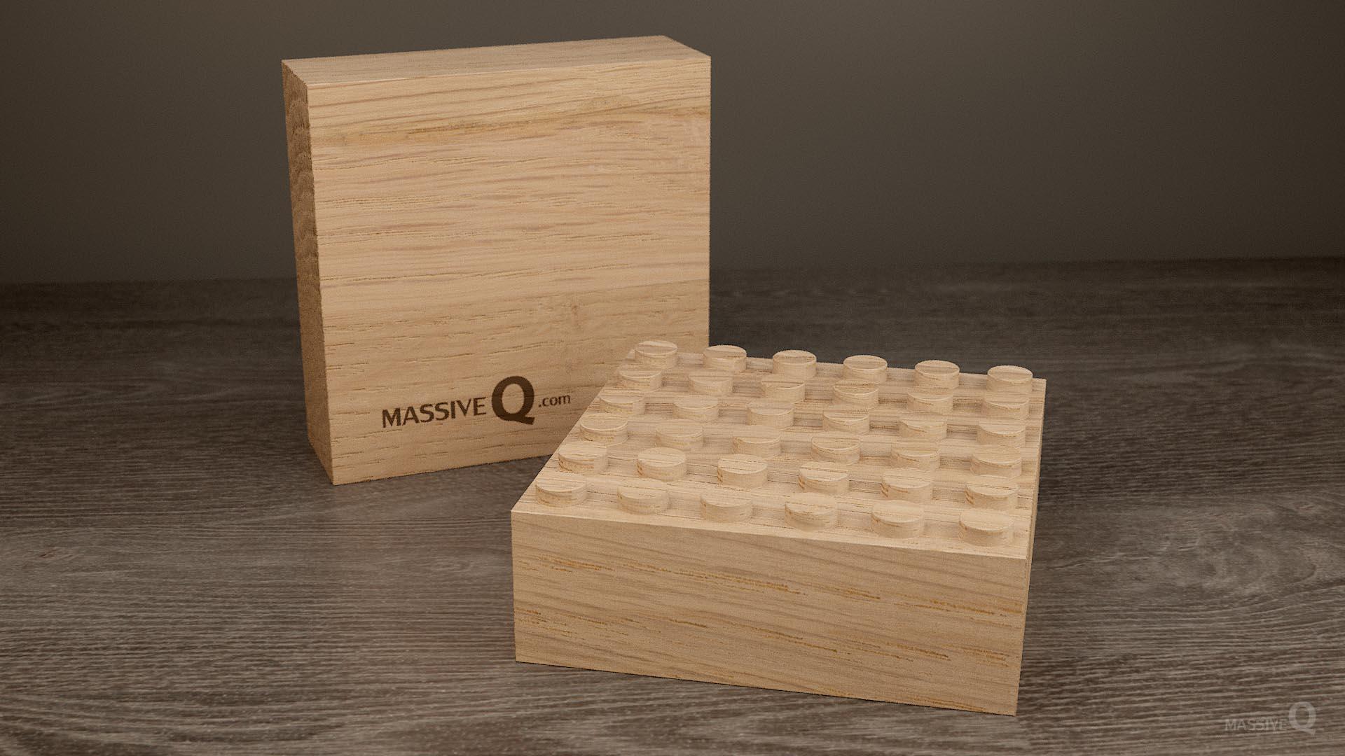 Q Baseplate 6x6x5 – Oak