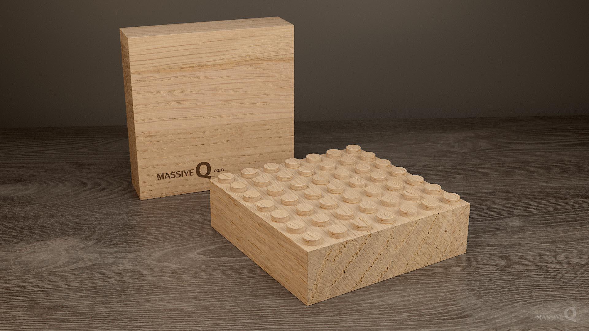 Q Baseplate 7x7x5 – Oak