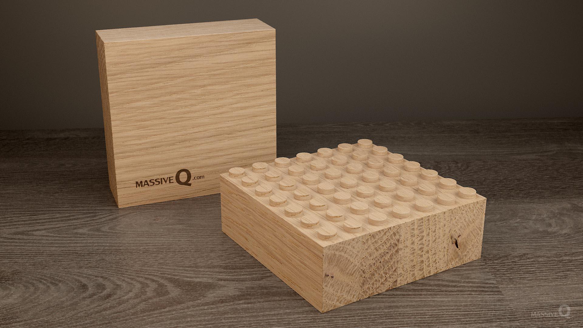 Q Baseplate 7x7x6 – Oak