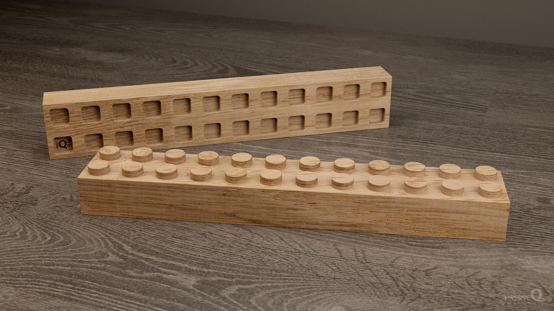Q Brick 2×12 – Oak