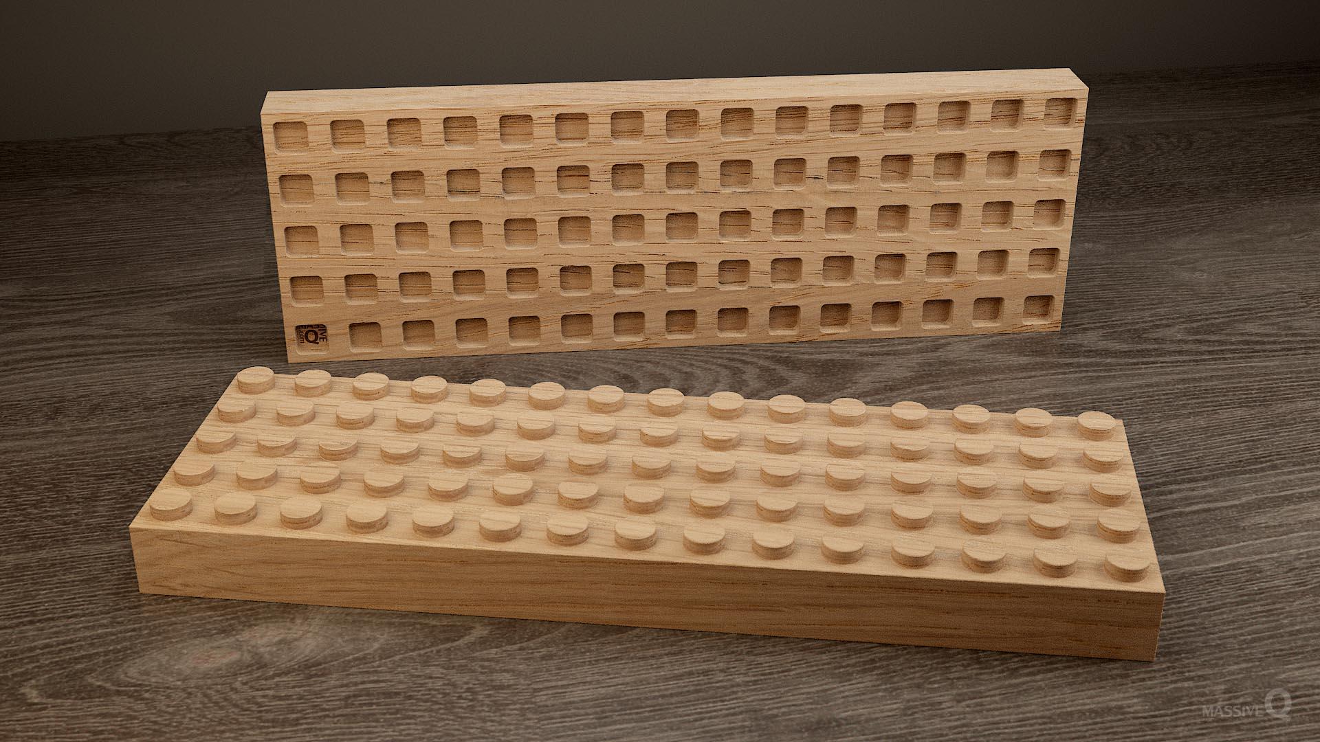 Q Brick 5×15 – Oak