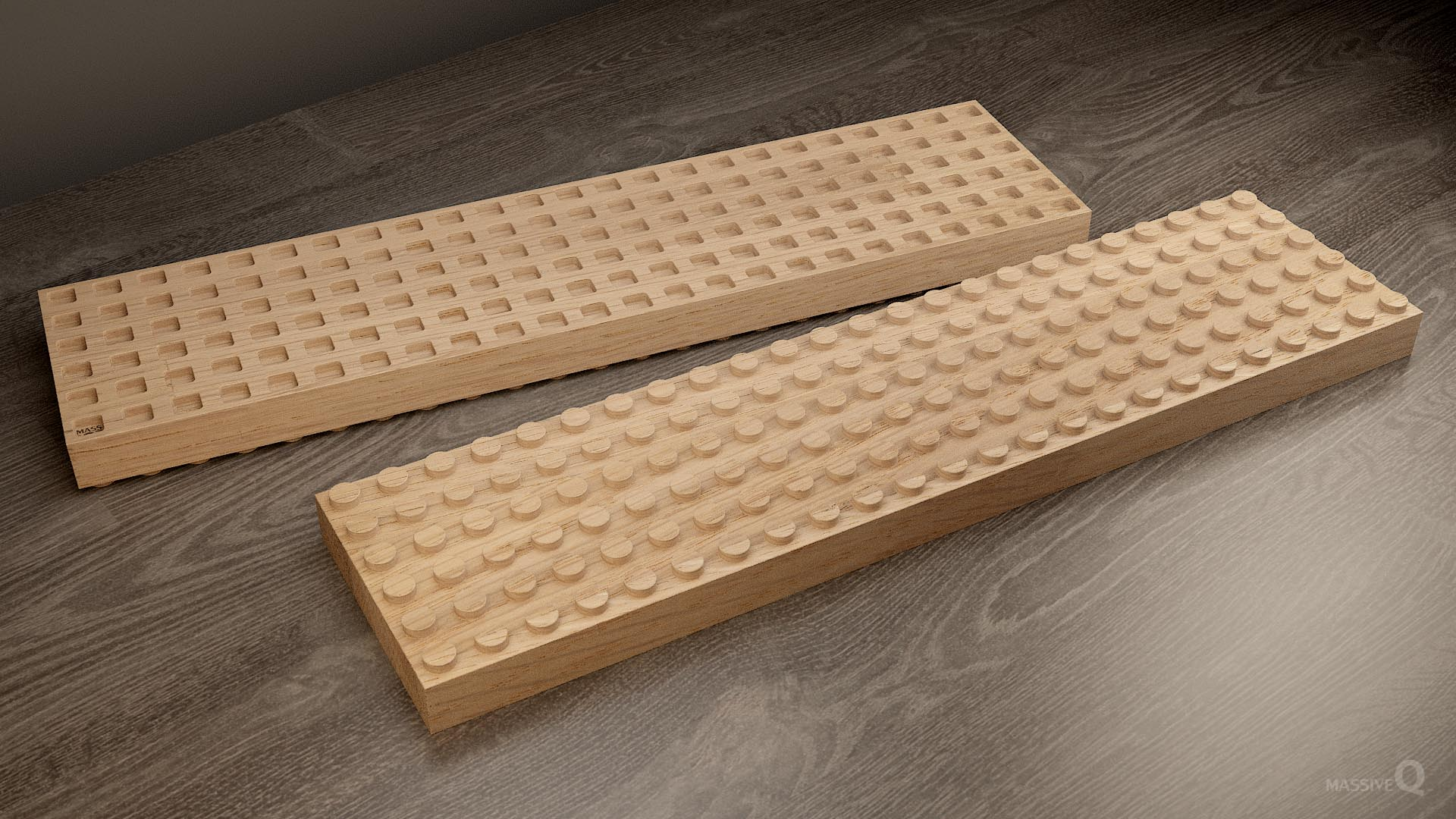 Q Brick 6×24 – Oak